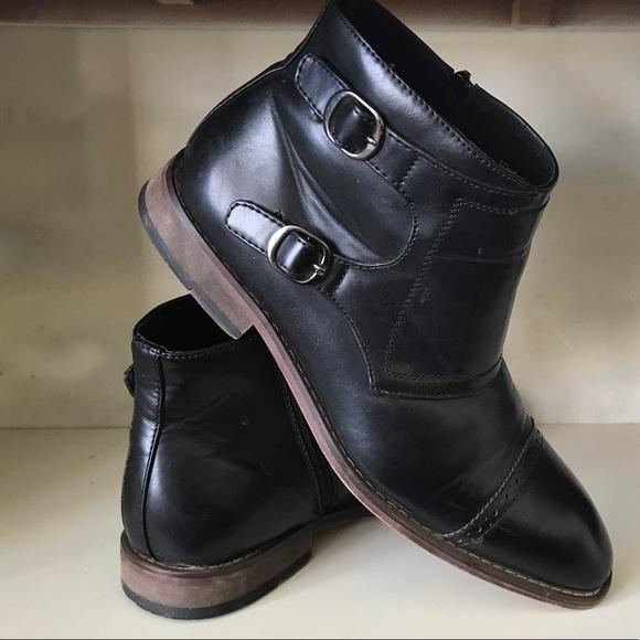 6b09ebf1011 XRAY Men Ankle Boots Burke Monk-strap Boot Sz 10.5